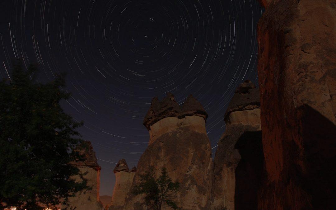 kapadokya – star trail